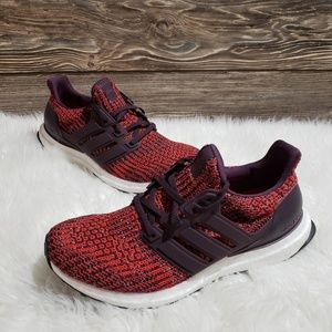 New Adidas Ultraboost Red Sneakers